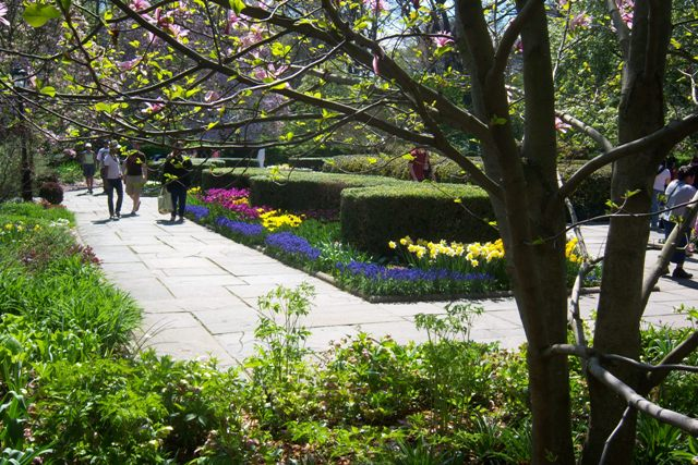 Conservatory Garden, Central Park, 4 25 09