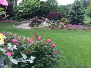 Completed Pond Garden